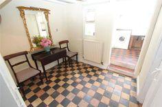 two lovely quarry tiled floors