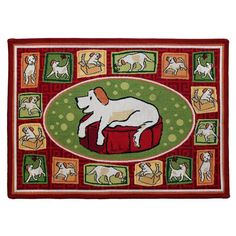 Park B. Smith A Dogs Life Pet Mat - ADLI00-RIA
