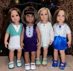В ожидании Нового года! Мои куколки Готц / Куклы Gotz - коллекционные и игровые Готц / Бэйбики. Куклы фото. Одежда для кукол