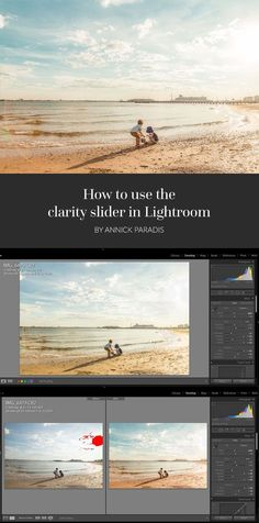 Photography Tips | At the beginning of my journey as a photographer, I watched a lot of tutorials and read plenty of articles saying DO NOT TOUCH THE CLARITY SLIDER.