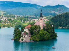 بحيرة بليد بسلوفانيا - العقل السليم