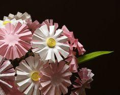 Цветы из бумаги…   Панель идей