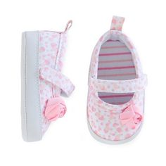 Just One You™Made by Carter's® Baby Girls' Mary Jane Skimmer - Pink/White