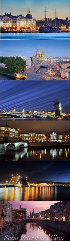 Picturesque! Stunning! Saint Petersburg City.