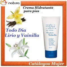 TODO DIA LIRIO Y VAINILLA Crema Hidratante para pies  Para ti a solo S/. 19.90