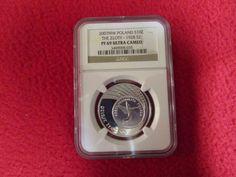 Poland 10 Zlotych 2007 NGC PCGS PF69 .999 Silver coin The Zloty Polish ICG ANACS
