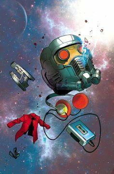 Galácticas ilustraciones de Star Lord [Marvel]
