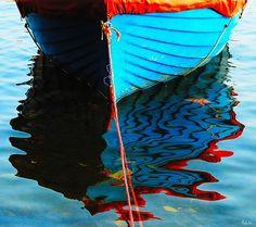 Blue Boat on Flicker!