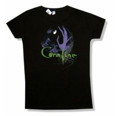 """Coraline """"What's On The Other Side"""" T-Shirt"""