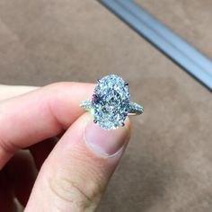 """2,807 Likes, 61 Comments - A.A Rachminov Diamonds Asia (@vechler) on Instagram: """"Sun Is Finally Out☀️ What's A Better Way To Celebrate It With This Most Stunning Oval Brilliant…"""""""