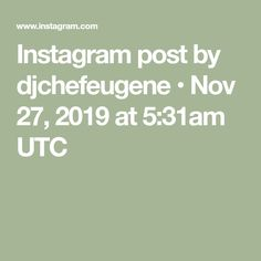 Instagram post by djchefeugene • Nov 27, 2019 at 5:31am UTC Weird Facts, No Cook Meals, Photo And Video, Instagram Posts, Amazing, Kitchen, Strange Facts, Cooking, Crazy Facts