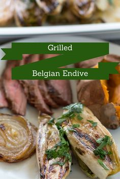 ... barbecue - Grilled Belgian Endive. Take your next barbecue up a notch