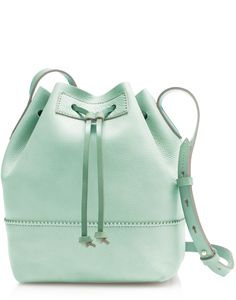 Downing Bucket Bag in Mint