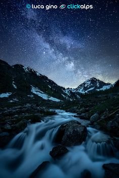 Milky Visions III (Valle Stura di Demonte, Cuneo, Italy) | Luca Gina (via 500px)