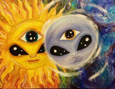 Molly Rodriguez's Art – spiritualityaestheti Psychedelic Drawings, Trippy Drawings, Art Drawings Sketches, Hipster Drawings, Flower Drawings, Couple Drawings, Art Illustrations, Easy Drawings, Pencil Drawings