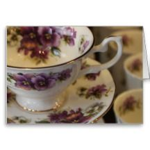 TEACUP NOTE CARDS & INVITATIONS