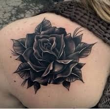 42 Best Black Rose Tattoo With Zodiac Images