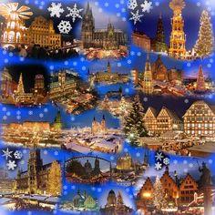 German christmas-markets by Arminius1871.deviantart.com on @deviantART