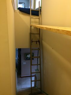 scaffold for painting and installing crown molding