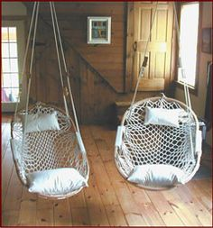 Love these Cobble Mountain Summit Chair from North Carolina Hammock Company