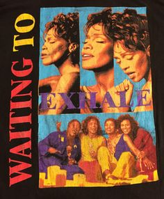 Vintage 90's Whitney Houston - Waiting to Exhale T-Shirt