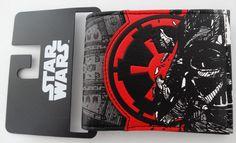 Star Wars Darth Vader Galactic Empire Bifold Wallet Nwt #DarthVaderStarWars #Bifold