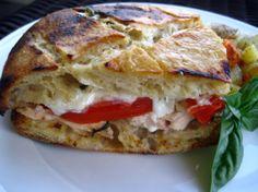 Mozzarella chicken sandwich | One Ordinary Day