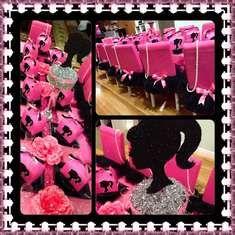 5th Birthday Celebration - Barbie silhouette