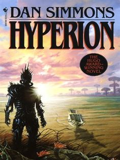 The Hyperion Cantos is the first of a series of science fiction novels by Dan Simmons. The story weaves the interlocking tales of a diverse group of travelers sent on a pilgrimage to the Time Tombs of Hyperion. Fantasy Series, Fantasy Books, Sci Fi Fantasy, Space Fantasy, Isaac Asimov, Interstellar, Sci Fi Books, Audio Books, Horror Books