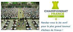 #LeSaviezVous Avec 1.300 participants, le chpt de France des Jeunes est le plus grand tournoi d'échecs de France !