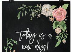 Hand Drawn Floral Print Art Print Chalk Art Chalkboard Blackboard Art, Chalkboard Writing, Chalkboard Drawings, Chalkboard Lettering, Chalkboard Designs, Chalk Drawings, Chalkboard Paint, Chalk Wall, Chalk Board