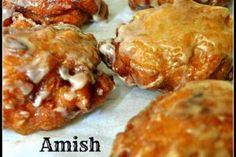 The Best Amish Apple Fritter Recipe Ever - Lil Moo Creations