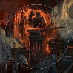 Forge me a weapon, Igor Burlakov (Dartgarry) on ArtStation at https://www.artstation.com/artwork/98Rxa