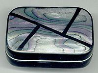 Faux Abalone made from Polymer Clay, by Chryse. Written in 2001.