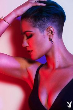 Halsey from a Billboard photoshoot