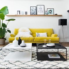 L💛vely 📷 @boligpluss #colorful_interior