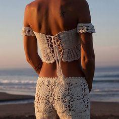 Swimwear – Crochet Bikini Beachwear. – a unique product by takkabeachwear on DaWanda