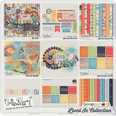 ***Save 20%*** Lived In Collection by Bella Gypsy Designs