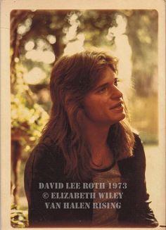 David Lee Roth, circa 1973