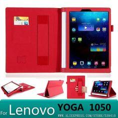 Cool Lenovo Yoga 2017: Luxury PU leather Cover case For lenovo yoga tablet 2 10 1050 1050f  1051L 1051 ...  planshetpipo