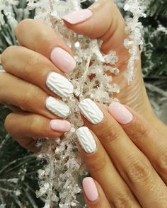 Wow!  We love these knitted nails by Dora!  This look was created using CND shellac! ANiU Salon Middleton, WI