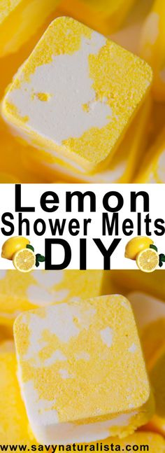 Lemon Shower Melts!