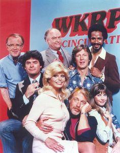The cast of WKRP in Cincinnati
