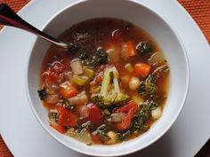 Easy Yummy Healthy Vegetable Soup! #Health #Fitness #Trusper #Tip