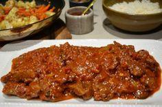 Spicy Lamb Vindaloo from pinkpostitnote.com