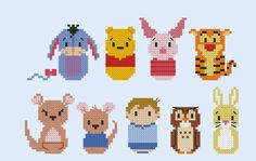 baby pooh characters