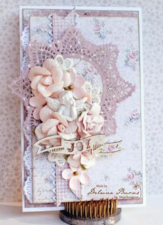 Baby Card by Delaina Burns