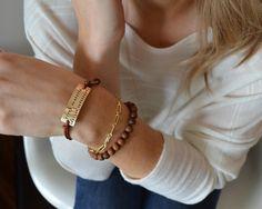 Too Charming Two Line Med Alert Bracelet