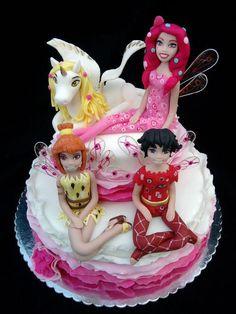 Cake mia and me 5th Birthday, Birthday Parties, Birthday Cakes, Birthday Ideas, My Little Pony Cake, Foundant, I Party, Party Ideas, Decoration