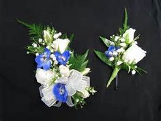 Prom Wrist Corsage and Boutonniere - Bing images